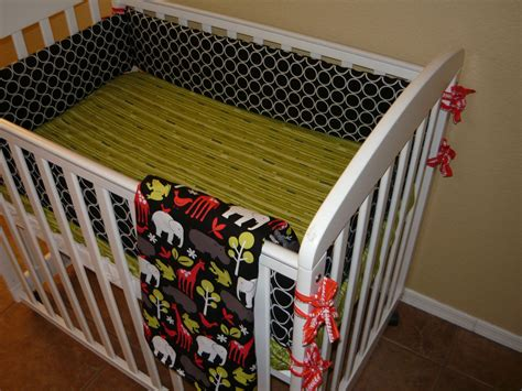 design your own mini crib bedding set