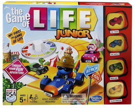 hasbro gaming  game  life junior game english version