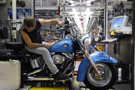 Harley Davidson York Pa Tours by Harley Davidson Offers Factory Tours In Three Locations