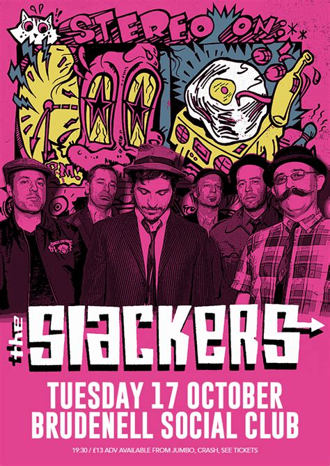 The Slackers the slackers plus guests gig at leeds brudenell social club