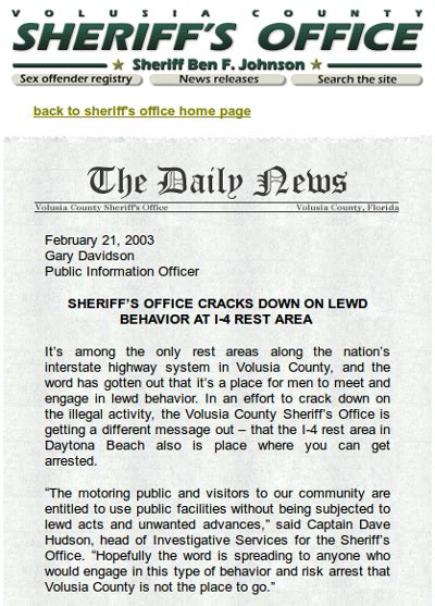 Volusia County Sheriff Number Search Volusia Exposed