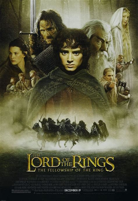 lord of the rings the lord of the rings the fellowship of the ring 2001