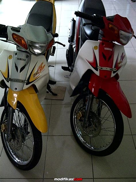 gambar motor 125zr modifikasirxking2016 modifikasi 125z images