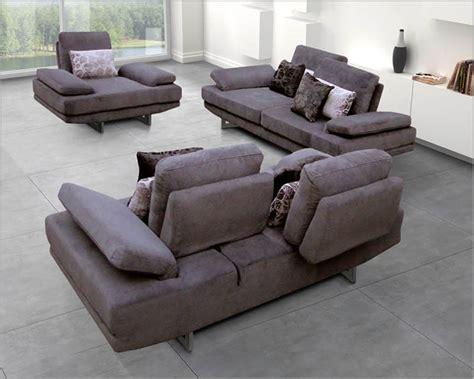 European Sectional Sofa European Design Fabric Sofa Set In Lilac Finish 33ss101