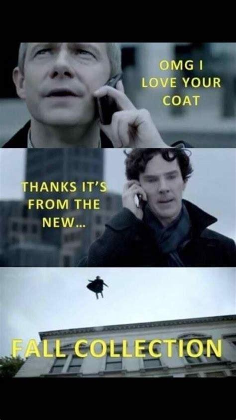 Funny Sherlock Memes - the sherlock fall collection tv meme etc pinterest