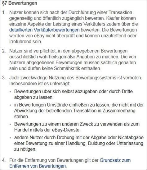 Positive Bewertung Schreiben by Rechtslage Negative Bewertung Bei Ebay Rechtsanwalt