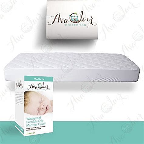Best Crib Mattress Cover Acc Pack N Play Crib Mattress Pad Cover Waterproof Dryer Friendly Best Fitted Crib Protector