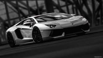 black and white cars lamborghini gran turismo