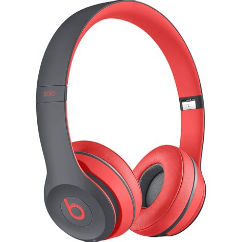 beats mobile headphones beats by dr dre solo2 wireless on ear headphones mkq22am