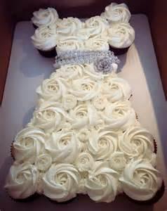 bridal shower cupcake idea craft ideas