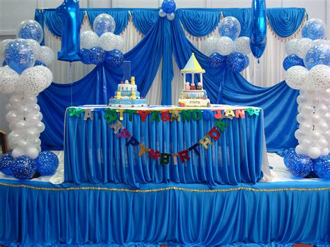 birthday parties decoration chikoos