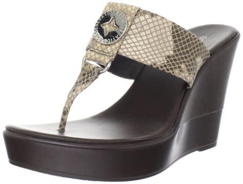 neutral wedge sandals bcbgeneration quo wedge sandals in beige neutral