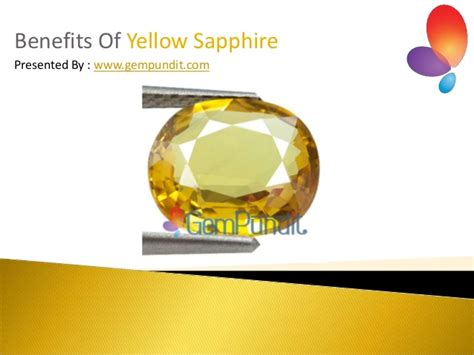 what are the benefits of yellow sapphire gemstone