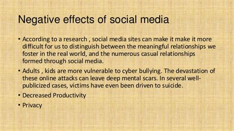 Essay On Impact Of Social Media On Todays Youth by Negative Effects Of Media Drodgereport707 Web Fc2