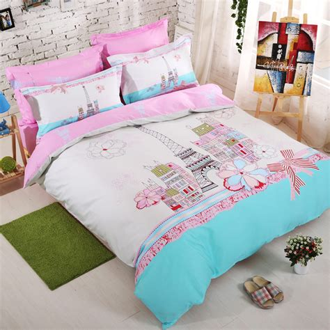 paris bedding set full luxury paris eiffel tower bedding 4pcs full queen size