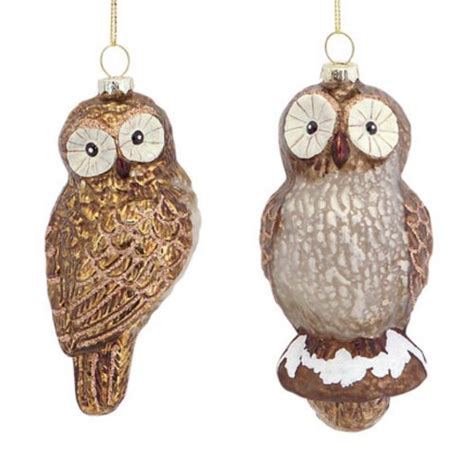 Owl Tree Ornaments - owl tree ornaments whimsical owls for your
