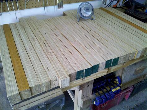 laminated maple bench top laminated plywood workbench top benches