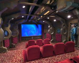 home theme ideas 11 amazing geek home theaters homes and hues