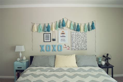 diy bedroom pocketful of pretty cheap easy bedroom wall