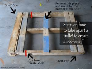 how to make pallet bookshelves pallet how to make a pallet bookshelf