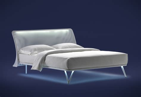 essentia bed essentia double bed by flou stylepark