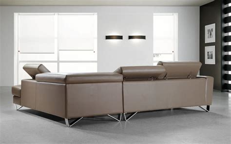casa divani divani casa waltz beige leather sectional sofa