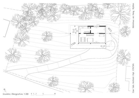 Floor Design Plans gallery of house on a slope gian salis architect 16