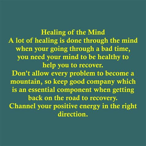 Healing Mind by Healing Of The Mind Quotes Designs Alpha Effects