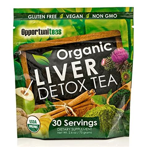 Green Tea Milk Detox by Organic Liver Detox Tea Matcha Green Tea Milk Thistle
