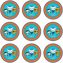 octonauts cupcake icing images party started