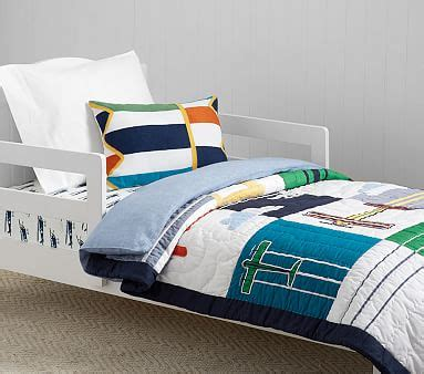 airplane toddler bedding airplane toddler bedding pottery barn kids