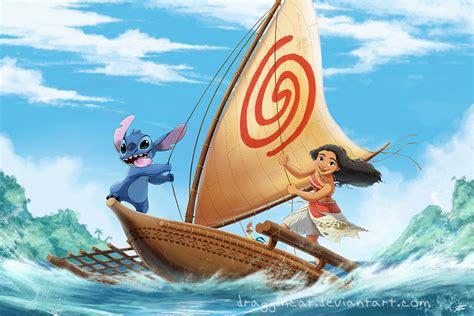 moana boat popsicle sticks ohana moana by draggincat fur affinity dot net