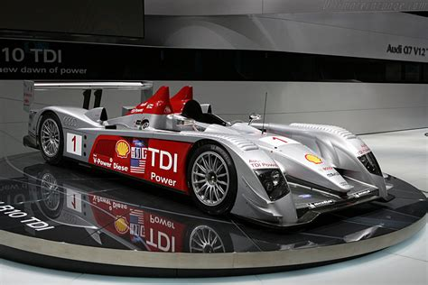 Audi R10 2007 North American International Auto Show (NAIAS)