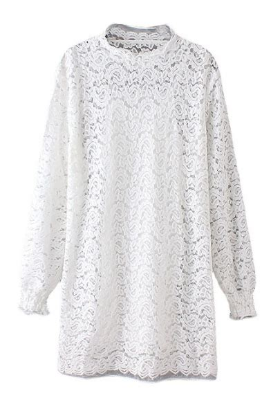 Plain Lace Sleeve Top plain neck sleeve lace top with camisole