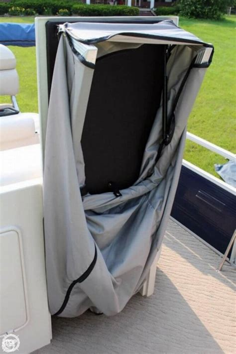 changing room for pontoon boat 2013 used manitou ses 25 shp pontoon boat for sale 46 500 quantico va moreboats