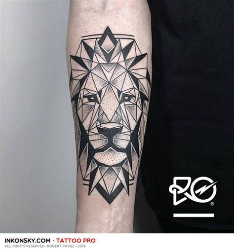 geometric lion tattoo 112 best images about inspira 231 227 o pam on