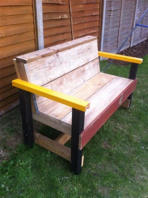 outdoor bench diy diy garden bench garden pinterest
