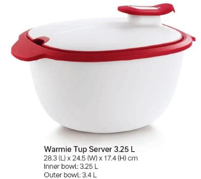 Tupperware Tup tupperware warmie tup insulated server the tupperware