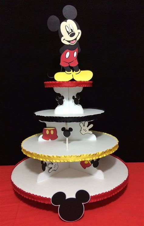 Standing Cup Mickey Mouse Stand Cake mickey mouse theme cupcake stand cake boards stands etc