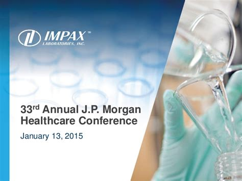 jp annual healthcare conference 2015 33rd annual j p healthcare conference