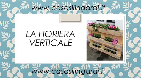 Fioriere Con Bancali by Fioriera Pallet