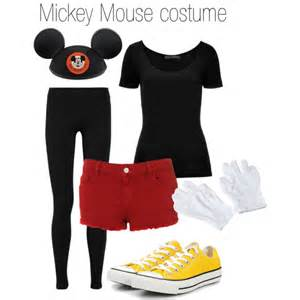 mickey mouse halloween costume polyvore