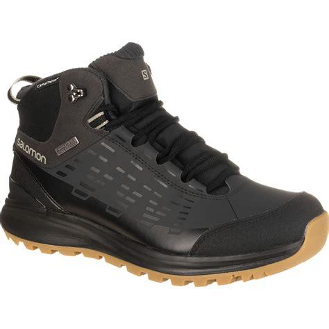 salomon boots mens salomon kaipo cs wp winter boot s ebay