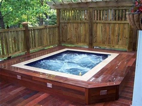 hot tubs how to build a deck for a hot tub joy studio design