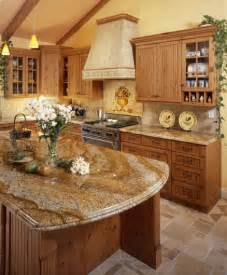 Granite Kitchen Countertops Ideas Luxury Kitchen With Granite Countertops Design Cream