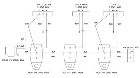 boiler zone valve wiring diagram boiler free engine