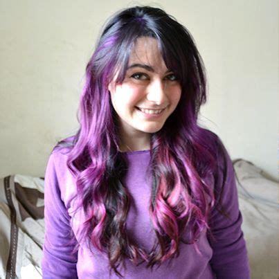 ideas  dark purple highlights  pinterest