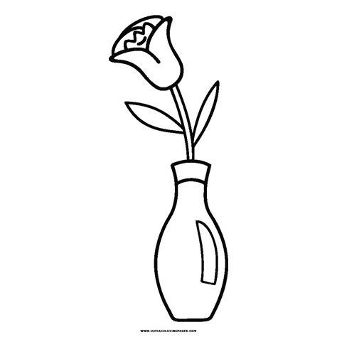 vaso con fiori da colorare vaso di fiori disegni da colorare ultra coloring pages con