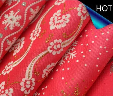Printed Fabric Decoration polyester satin metallic printed fabric for decoration
