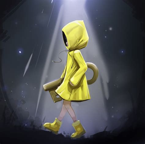 six little nightmares fan art reworked by iskuroi